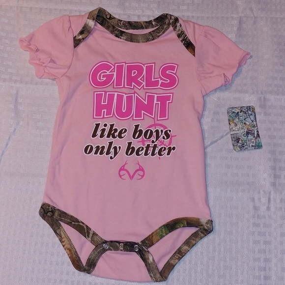 5eed19e3e Realtree One Pieces | New Infant Baby Girl Onesie Bodysuit | Poshmark